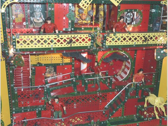 Fairground FUN HOUSE (close up)