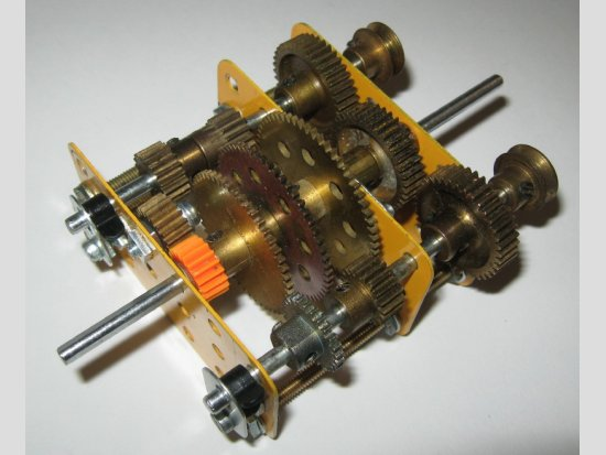 3-Speed and Reverse Gearbox by Ed Stockwell